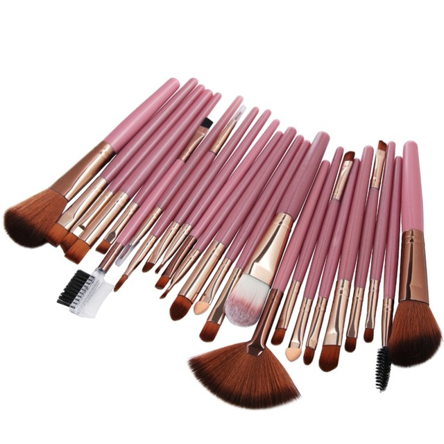 MAANGE 25 Pcs Makeup Brush Kits Face Foundation Power Blush Eyebrow Lips Make Up Brushes Set pincel maquiagem 3