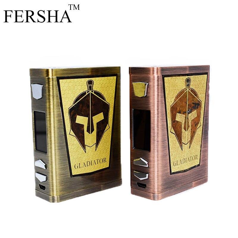 FERSHA Cigarette électronique 200 W Mod kit vape boîte de 18650 batterie RBA bricolage atomiseur puissance réglable joueur grande fumée vaper