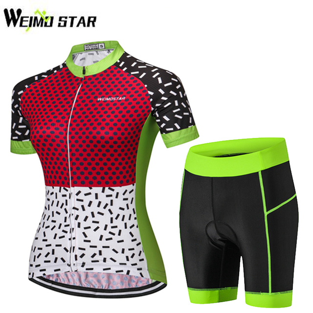 81020c5f4 WEIMOSTAR Girls Cycling Jersey Set Short Sleeve Cycling Suit Pro Team  Summer Bike Cycle Bicycle Sports