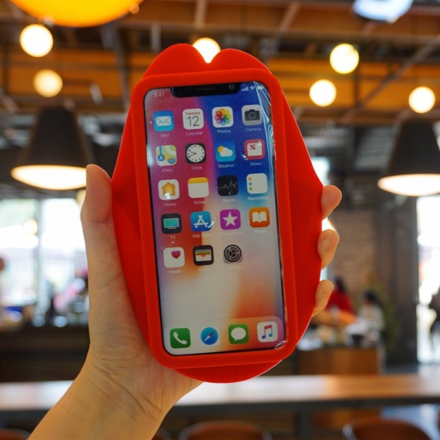3D Fashion Red IPhone Case