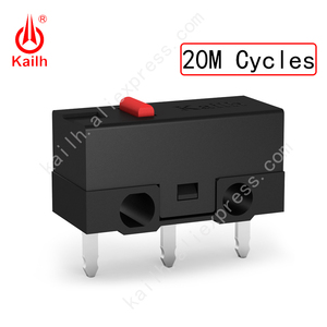 Image 2 - Kailh High life mikro przełącznik z 10/20/30M cykl Mechamicroswitch 3 piny SPDT 1P2T mysz do gier mikro przełącznik przycisk myszy