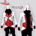 Assassins Creed 3 III Коннер Kenway Толстовка С Капюшоном/Пальто/Куртка Косплей Костюм