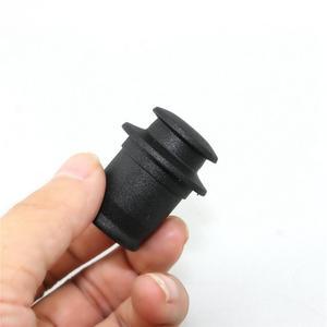 """Image 3 - 3 個ユニバーサル abs シガーライタープラグダストカバーキャップフィット米国日本車 12 12v ソケット 0.83 0.87 """"シガーライター穴"""