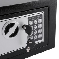 Digital Keypad Safe Box Small Household Mini Steel Safes Money Bank Safety Security Box Keep Cash Jewelry Document With Key