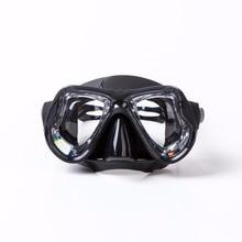 2017 Högkvalitets silikon Badmaskglasögon Professionellt härdat glas Scuba Mask Myopia Diving Mask Prescription lins