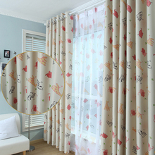 Newest 95*250cm Window Curtains For Living Room Fabric Curtain + Pastel Chiffon  Curtain Fabric