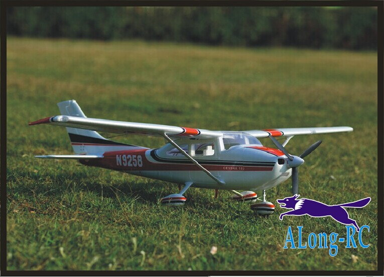 EPO <font><b>plane</b></font> RC airplane RC MODEL HOBBY TOY BEGINNER <font><b>plane</b></font> 5 channel WINGSPAN 1410mm 5CH CESSNA 182 (have kit set or PNP set) image