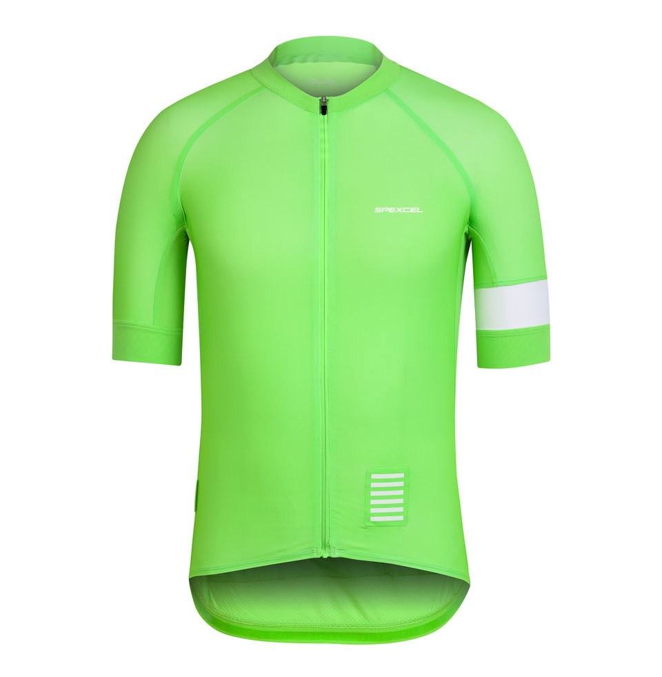 Spexcel high quality pro team short sleeve Green/Coral cycling jersey Tight fit jerseys Ropa Ciclismo mtb or road bike gear new italy pro team cycling jerseys 2018 short sleeve summer breathable cycling clothing mtb bike jerseys ropa ciclismo
