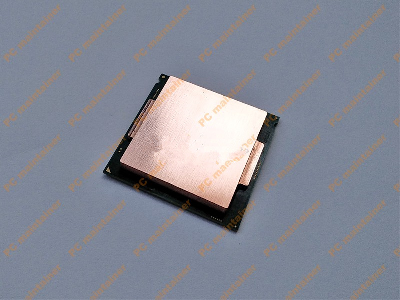 Free Ship CPU Pure Copper Head Cover For 3770K 4790K 6700K 7700K 8700K 115x Interface Lid
