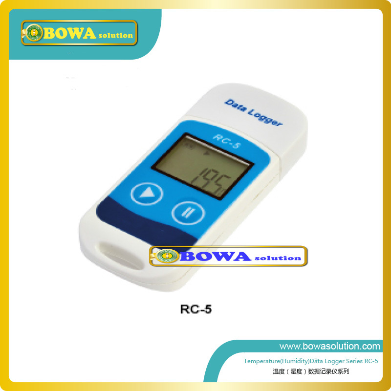ФОТО Temperature and humidity data logger  RC-5 for medicine shipping and storage process records