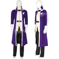 High Q Unisex Anime Cosplay FAIRY TAIL Gray Fullbuster Cosplay halloween costume outfit custom Suit Sets