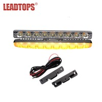 LEADTOPS Car High Power DRL Led Daytime Running Light Turn Signal Light Waterproof DC 12v 6000k