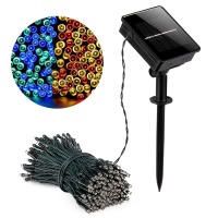 String Light Lights Solar Garden Christmas Lights Holiday Outdoor Fairy Lights Waterproof Rgb Whtie Blue Wedding