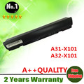 New 6 cells laptop battery A31-X101 A32-X101  for ASUS EeePC  X101CH  X101H  X101  X101C WHOLESALES
