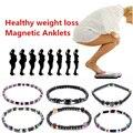 12 типов магнитных браслетов для похудения, цветной браслет для магнитной терапии