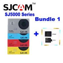 Original SJCAM SJ5000 SJ5000X Plus SJ5000 WIFI Sj 5000 Deportes Impermeables Cámara de acción Sj Cam DV Extra + Una Batería + Un Cargador