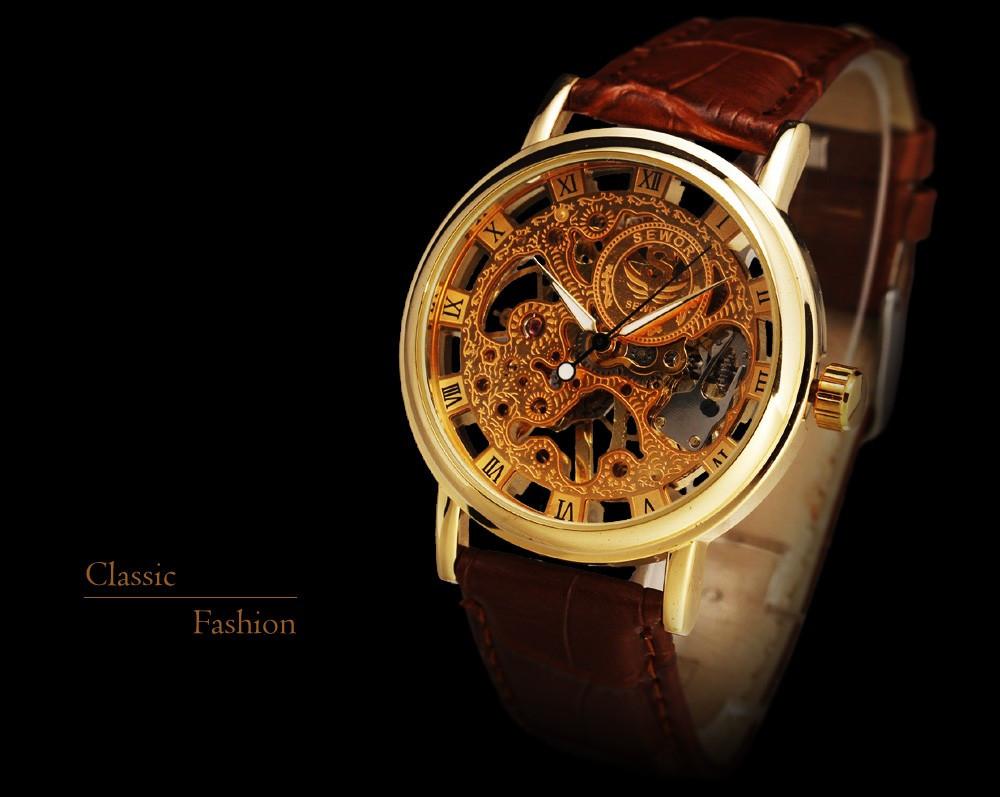 HTB12NJ9NVXXXXXLXpXXq6xXFXXX1 - SEWOR Casual Fashion Skeleton Watch for Men