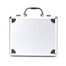 Aluminum Alloy Hard Pistol Gun Case with Padded Foam Lining