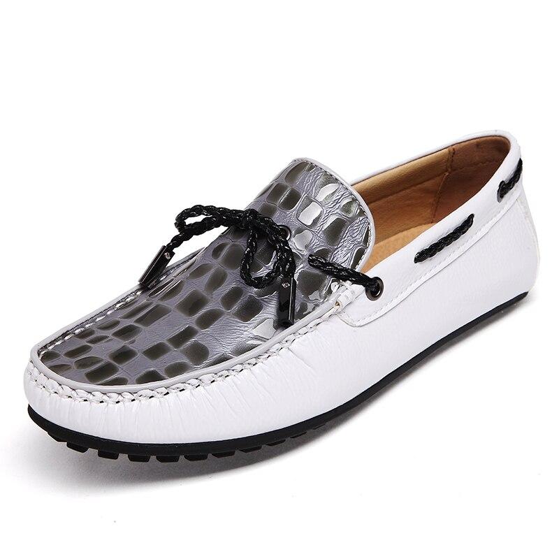 2016 Nuevo Diseño Zapatos de Sperry Hombres Planos Ocasionales Zapatos Del Barco de Cuero Genuino de La Manera de Pinchos Mens A..