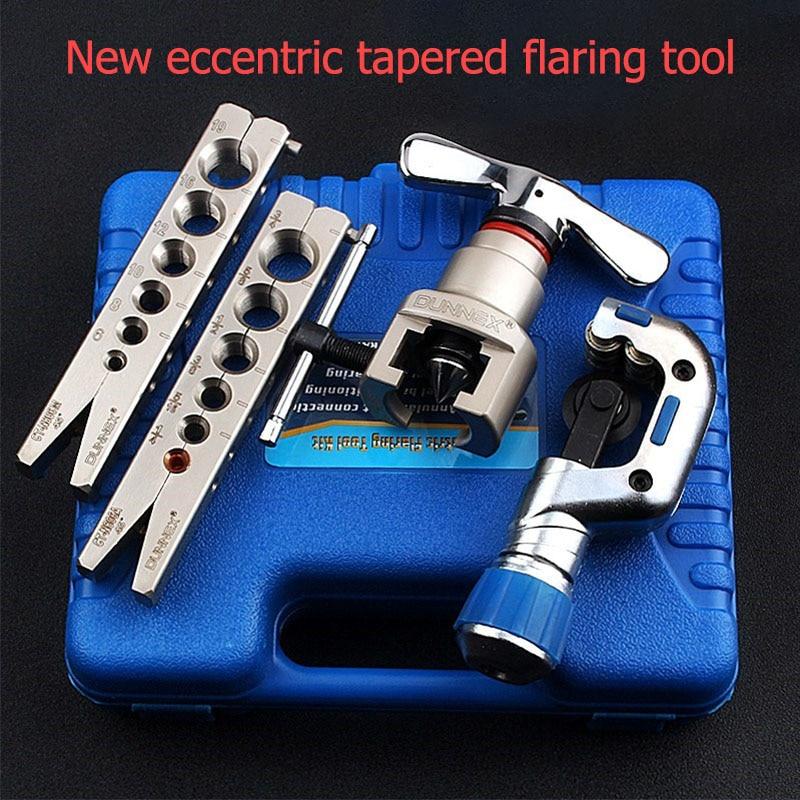 Ratchet Flaring Flare Tool Set 6-19mm Gas Brake Line Application Tubing Refrigerator Refrigeration Repair Tools Expander Sets