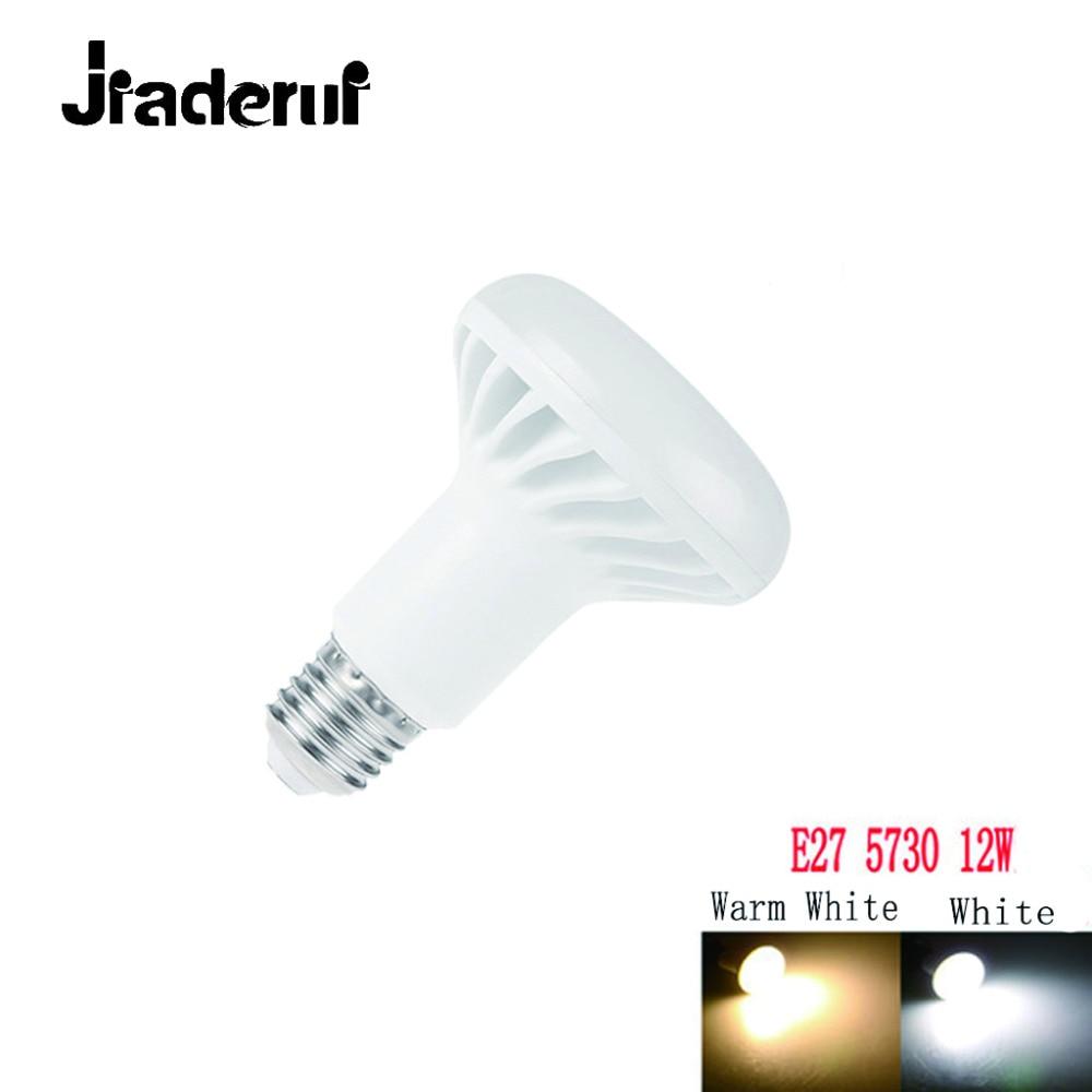 Jiaderui High Quality E27 LED Bulb Lamp SMD 5730 R80 12W LED Spot light AC 220V 110V Spotlight High Stripe Room Lighting bulb lexing lx r7s 2 5w 410lm 7000k 12 5730 smd white light project lamp beige silver ac 85 265v