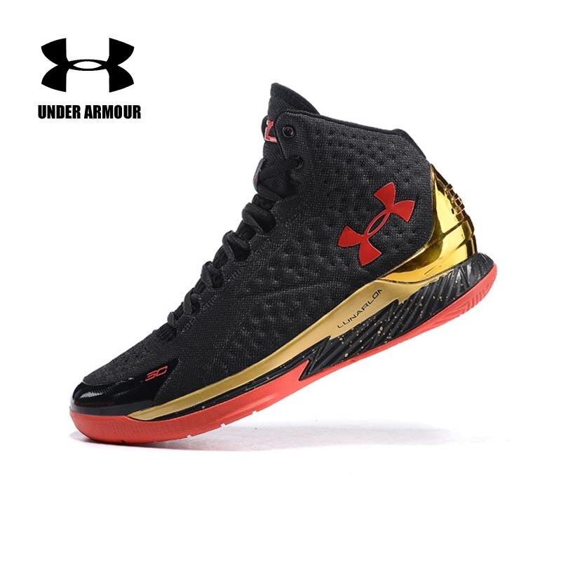 Under Armour homme Curry V1 basket chaussures zapatillas hombre deportiva haut amorti classique basket baskets US7-12