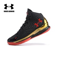 Under Armour Men Curry V1 Basketball shoes zapatillas hombre deportiva high Top cushioning classic Basketball Sneakers US7 12