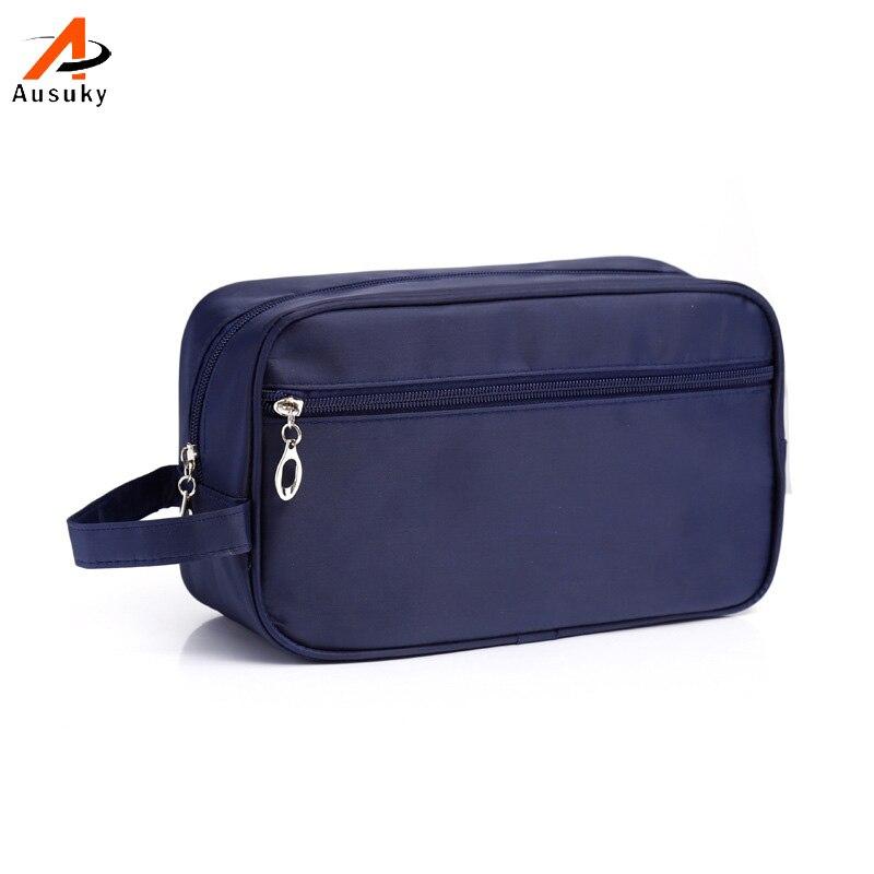 Brand Waterproof Man Unisex Portable Cosmetic Bag Travel Cosmetics Bag Trousse De Maquillage Necessaire Women Toiletry Kits