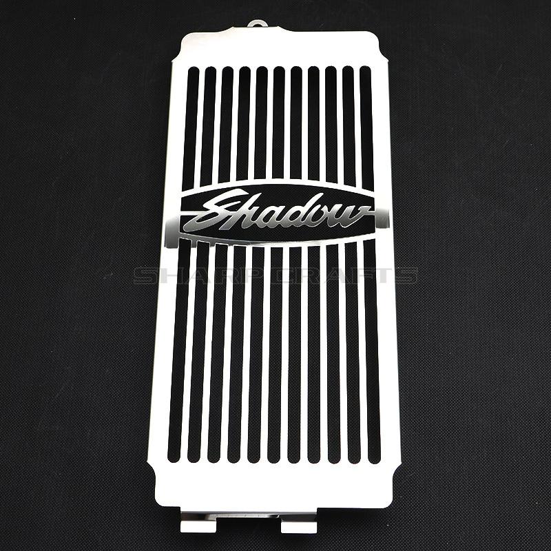 Mesh Radiator Grille Guard Cover For Honda Shadow ACE VT400 VT750 Spirit 750