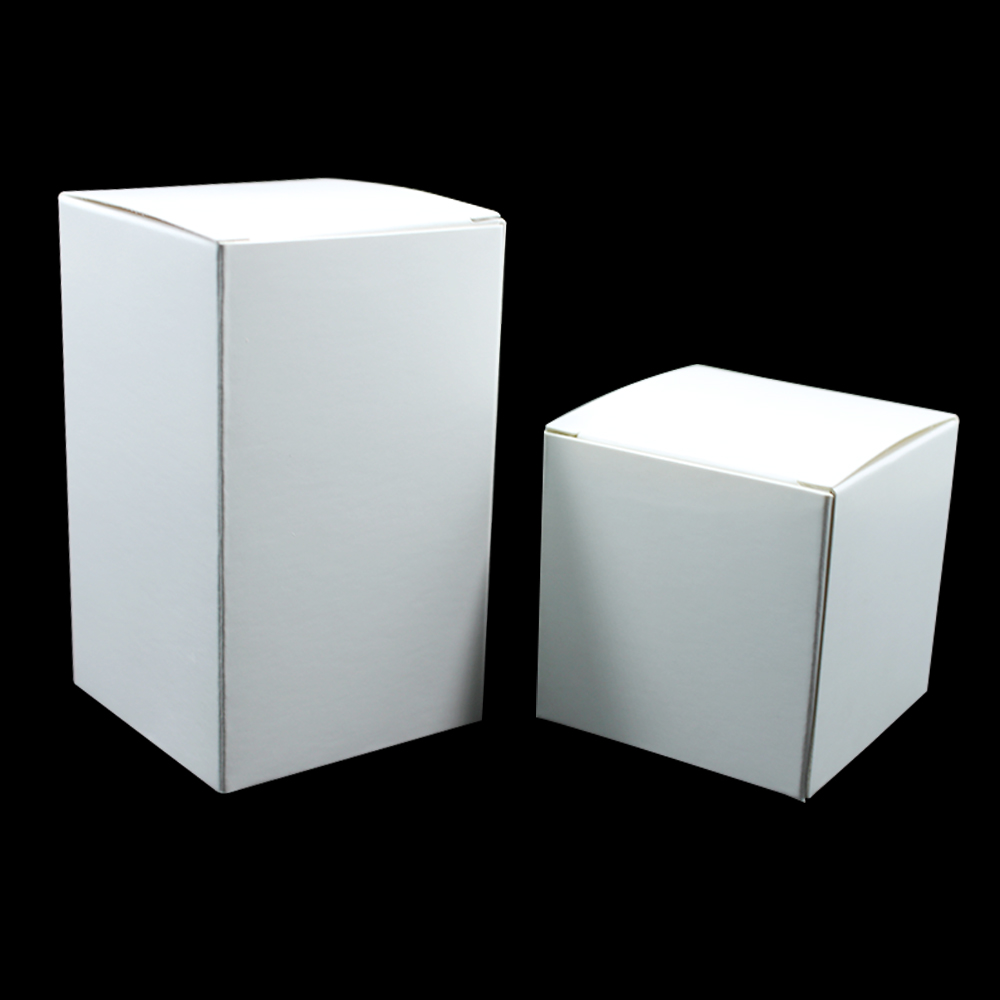 10*10*10cm White Cardboard Packaging Boxes [ 100 Piece Lot ] 2