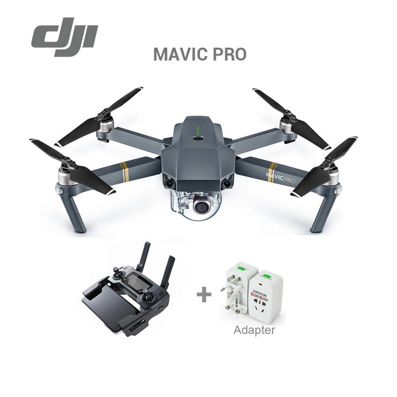 Prix pour En stock 2017 date d'origine DJI Mavic pro drone avec 4 K vidéo 1080 p caméra rc hélicoptère Livraison Gratuite