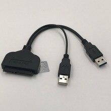 USB3.0 do SATA kabel danych dysk twardy wysokie dane prędkości kabel przesyłowy do 2.5 cala z Charing USB HDD Plug And Play 15cm 1 sztuk