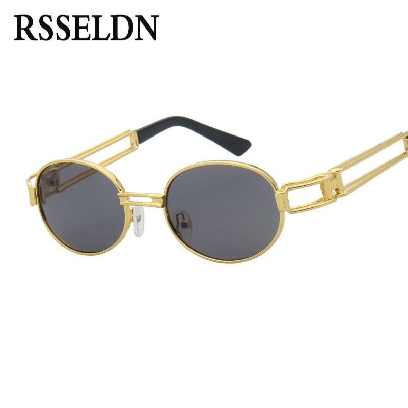 RSSELDN New Retro Óculos De Sol Dos Homens Do Vintage Pequeno Rodada do  Metal do Ouro Pequeno óculos de Sol Para Homens Mulheres Moda Oco 2019 Hot  venda em ... 8f421b10a2