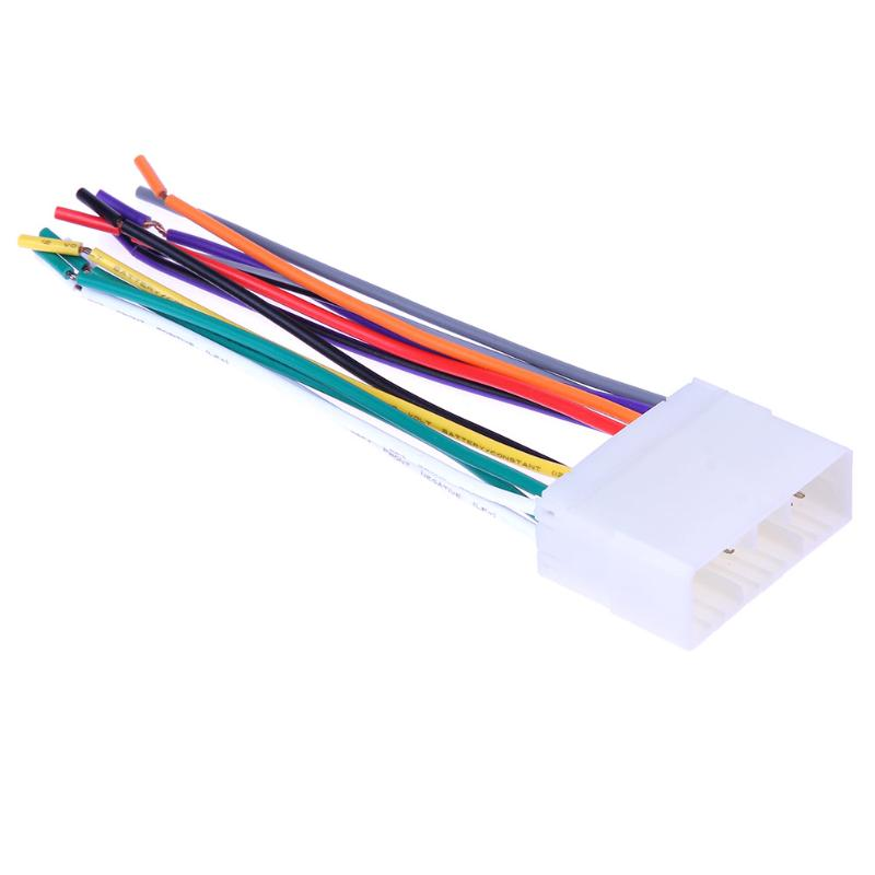 1 Set Car Stereo Cd Player Radio Wiring Harness Wire
