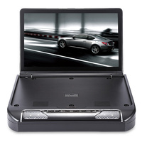 13 3 Inch Roof Mount Car DVD Player System Built In Dome LED Lights USB IR