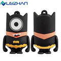 LEIZHAN USB Flash Drive Pendrive Captain America/Super Hero/Spider Man/Bat Man/Iron Man USB Stick 2.0 64g 32g 16g 8g 4g U Disk
