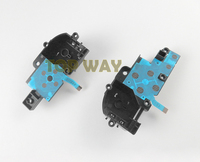 High Quality Left Right Conductive Film Key Button Ribbon Flex Cable with Bracket For Wii u Wiiu Pad Controller Replacement