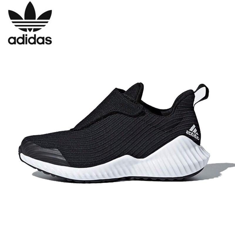 Adidas дети FortaRun AC оригинальный Новое поступление для маленьких детей бег обувь легкая дышащая Спортивная обувь # AH2626 AH2627