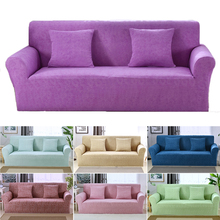 Elastic Stretch Universal Sofa Covers Sectional Throw Couch Corner Cover Cases for Furniture Armchairs Home Decor universal full fit sofa cover warm plush stretch elastic couch covers l shape furniture recliner covers set leather protection