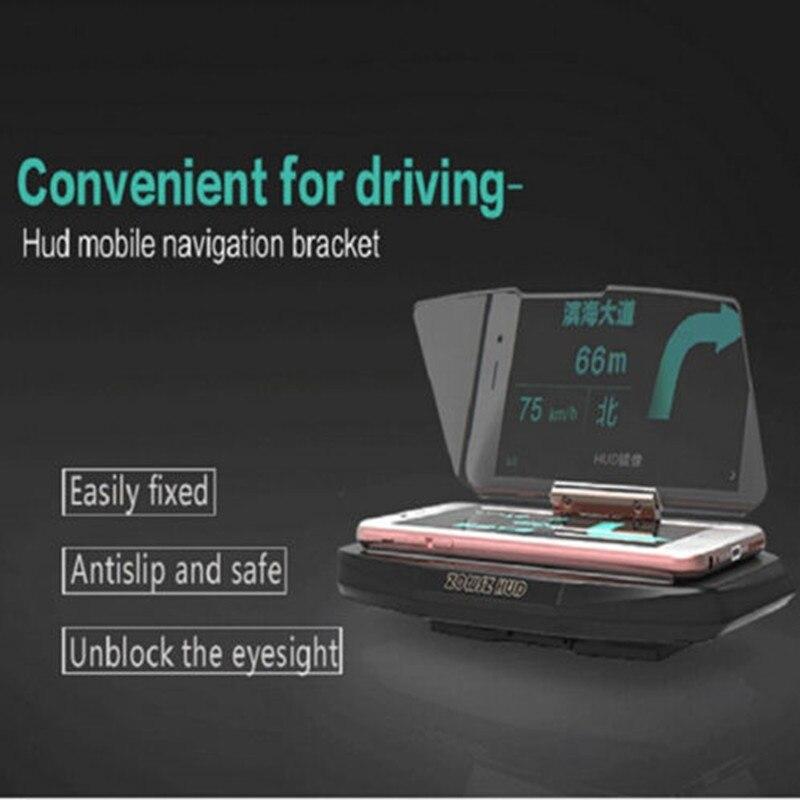 Navigation Mount Car GPS HUD Head Up Universal mobile phone support support Projection Display Holder OEM