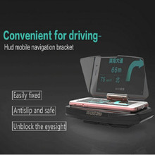 Navigation Mount Car GPS HUD Head Up Universal mobile phone support support Projection Display Holder OEM