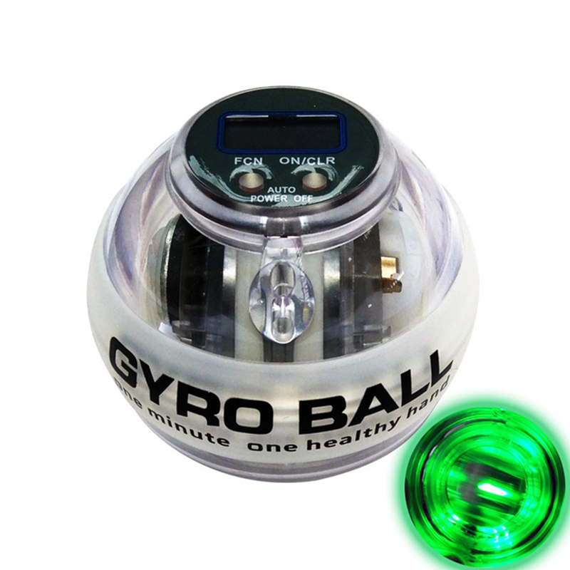 Gyroscope Bal LDual Force Gyroscope Wrist Arm Muscle Force Power Exercise Strengthen Ball Trainer Hand Grips Fitness Equipments
