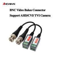 10 stücke ABS Kunststoff CCTV Video Balun CCTV Zubehör Passive Transceiver 2000ft Abstand UTP Balun BNC Kabel CAT5 Kabel
