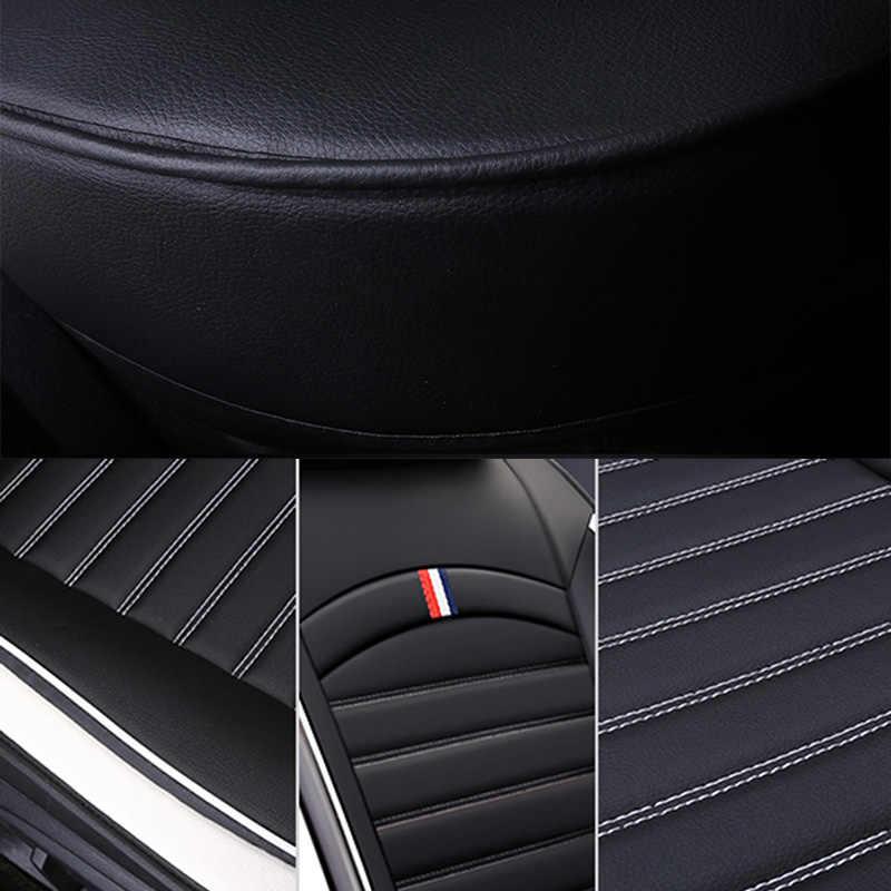 Pu レザーユニバーサル自動車のシートは、プジョー 106 205 206 207 208 3008 301 306 307 個の 308 2010 2009 2008 2007