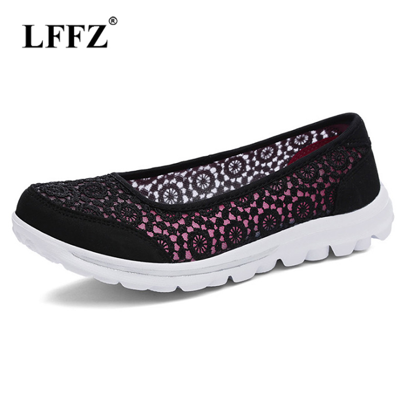 Lzzf Comfortable Flats Shoes Woman Flat Air Mesh Spring Summer Loafers for Women Shoes Slip on Female Zapatos De Mujer Plus SizeLzzf Comfortable Flats Shoes Woman Flat Air Mesh Spring Summer Loafers for Women Shoes Slip on Female Zapatos De Mujer Plus Size