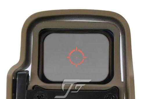 JJ Airsoft  55X 5X8 Red / Green Dot , QD Mount (Tan) Buy One Get One FREE Killflash / Kill Flash jj airsoft xps 2 z red green dot qd mount black