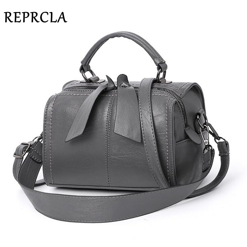 REPRCLA Fashion Elegant Handbag Women Shoulder Bag High Quality Crossbody Bags Designer PU Leather Ladies Hand Bags Tote 1