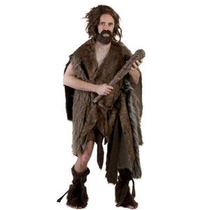 Wig Beard Hat Rasta Beanie Caveman Bandana Handmade Crocheted Gorro Winter Men's Halloween Costume Funny Birthday Gifts(China)