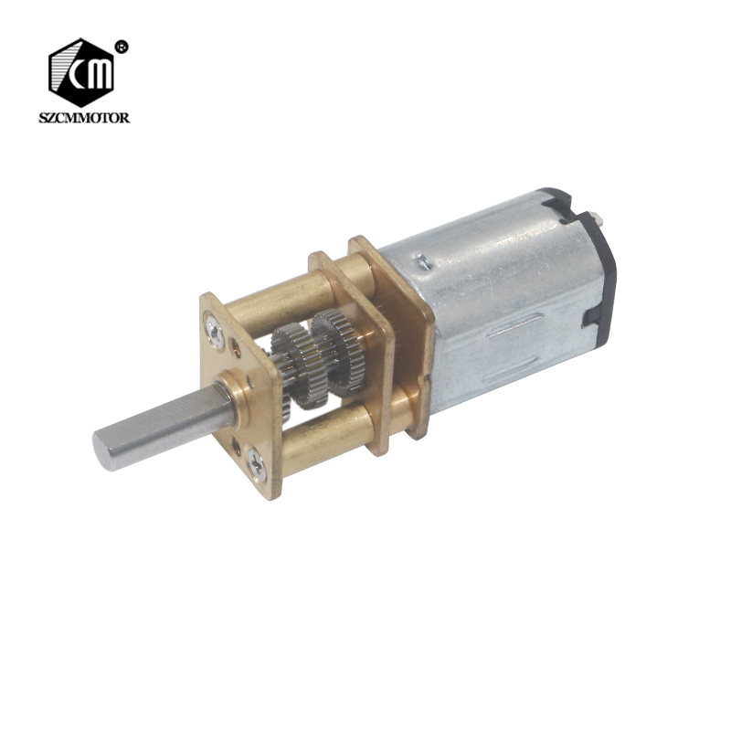 DC 6V 12V 15RPM to 6000RPM Gearmotor 3mm Shaft Mini Metal Gearwheel Micro <font><b>Gear</b></font> <font><b>Motor</b></font> <font><b>N20</b></font> Geared <font><b>Motors</b></font> 3000RPM Motoreductor image