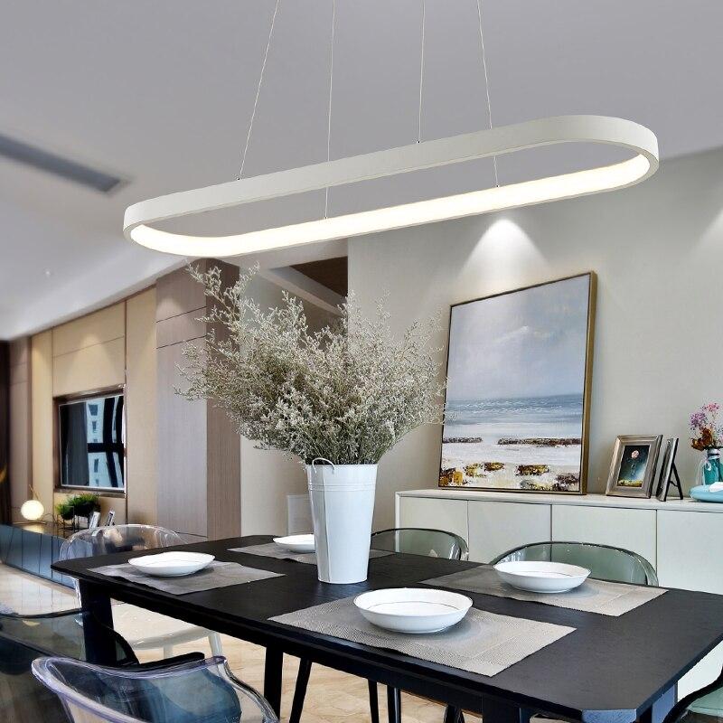 US $179.97 24% di SCONTO|Moderno Led Lampadario Per Soggiorno Pranzo Cucina  Camera lampadari moderni una sospensione AC85 265V Ciondolo Appeso ...